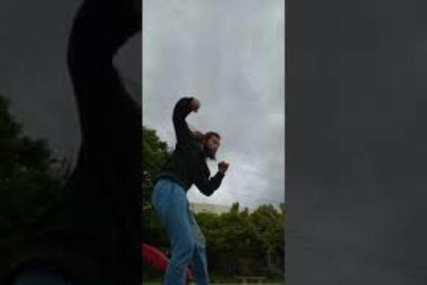 コウスケ格闘護身術練習1